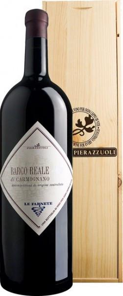"""Вино Tenuta Cantagallo, """"Barco Reale"""" di Carmignano DOC, 2012, wooden box, 5 л"""