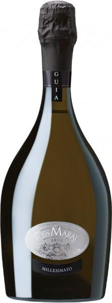 "Игристое вино Foss Marai, ""Guia"" Millesimato Brut, Prosecco di Valdobbiadene Superiore DOCG, 2014"