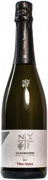 Игристое вино Nino Franco, Brut, Valdobbiadene Prosecco Superiore DOC, 0.375 л