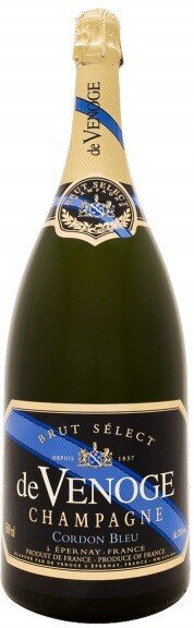 "Шампанское Champagne de Venoge, ""Cordon Bleu"" Brut Select, Champagne AOC, 3 л"