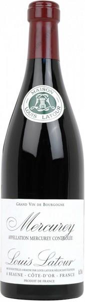 Вино Louis Latour, Mercurey AOC Rouge, 2012