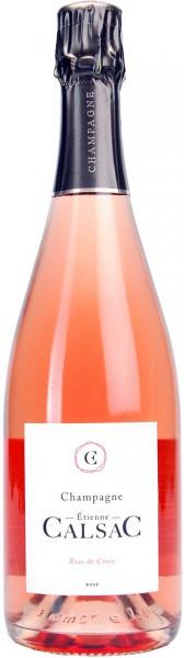 Шампанское Etienne Calsac, Rose de Craie, Champagne AOC