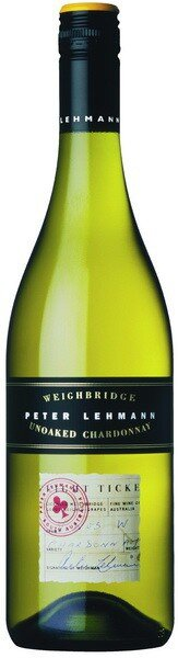 Вино Peter Lehmann Weighbridge Unoaked Chardonnay, 2008