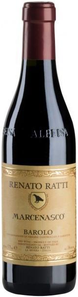 """Вино Renato Ratti, Barolo """"Marcenasco"""" DOCG, 2011, 0.375 л"""