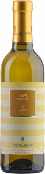 Вино Fontanafredda, Gavi del Comune di Gavi DOCG, 2013, 0.375 л