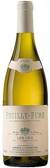 Вино Pouilly-Fume AOC Les Cris 2007