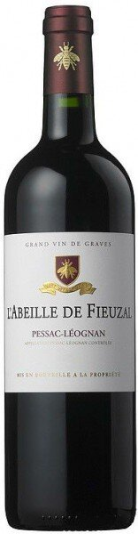 """Вино Chateau de Fieuzal, """"L'Abeille de Fieuzal"""", Pessac-Leognan AOC, 2013"""