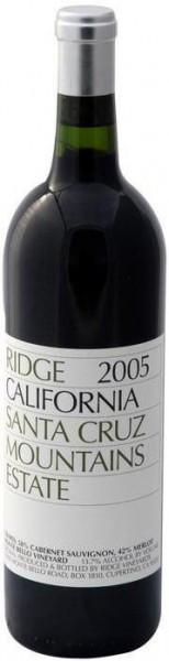Вино California Santa Cruz Mountains 2005