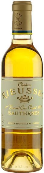 Вино Chateau Rieussec, Sauternes AOC 1-er Grand Cru Classe, 2001, 0.375 л