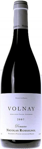 Вино Domaine Nicolas Rossignol, Volnay AOC, 2007