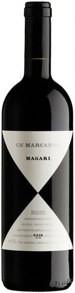 "Вино Gaja, ""Magari"", Ca Marcanda, Toscana IGT, 2012, 0.375 л"