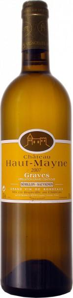 Вино Chateau Haut-Mayne, Graves AOC, 2007
