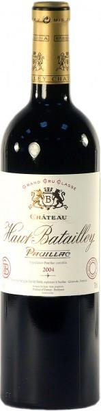 Вино Chateau Haut-Batailley, Pauillac AOC 5-eme Grand Cru Classe, 2004