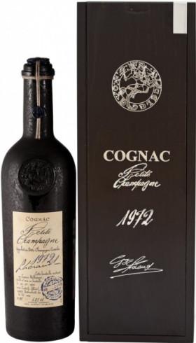 Коньяк Lheraud Cognac 1972 Fins Bois, 0.7 л