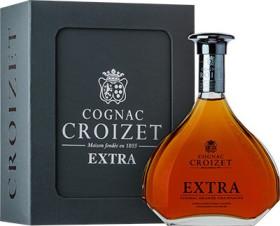 "Коньяк ""Croizet"" Extra, Cognac AOC, in decanter & gift box, 0.7 л"