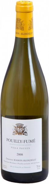 "Вино Domaine Masson-Blondelet Pouilly Fume ""Villa Paulus"" 2008"