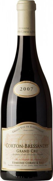 Вино Edmon Cornu & Fils, Corton-Bressandes Grand Cru AOC, 2007