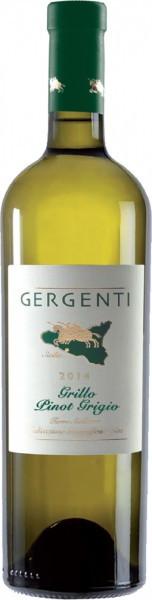 "Вино ""Gergenti"" Grillo-Pinot Grigio, Terre Siciliane IGT, 2014"