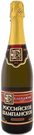 Шампанское Gelendzhik, Russian Champagne Brut