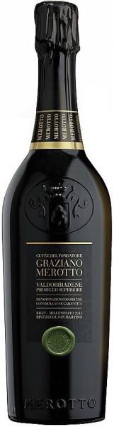 "Шампанское Merotto, ""Cuvee del Fondatore"", Valdobbiadene Prosecco Superiore DOCG"