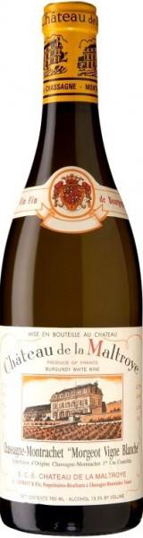 """Вино Chateau de la Maltroye, Chassagne-Montrachet Premier Cru """"Morgeot Vigne Blanche"""", 2016"""