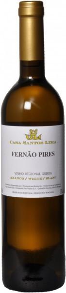 Вино Casa Santos Lima, Fernao Pires, 2011