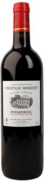 """Вино Chateau Robert, """"Cuvee Carles"""", Pomerol AOC, 2004"""
