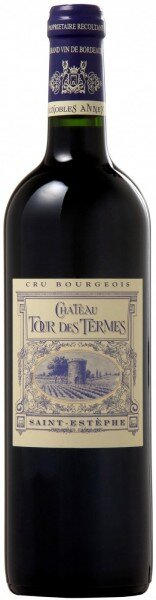 Вино Chateau Tour des Termes, L'Heritier de Tour des Termes, Saint-Estephe AOC, 2014