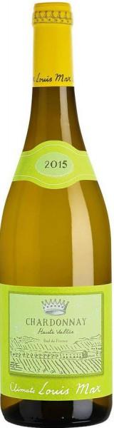 """Вино Louis Max, """"Haute Vallee"""" Chardonnay, Pays d'Oc IGP, 2015"""