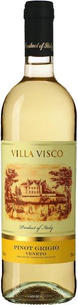 """Вино """"Villa Visco"""" Pinot Grigio, Veneto IGP, 2015"""