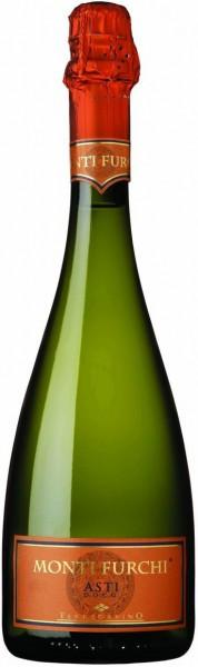 "Игристое вино ""Monti Furchi"", Asti DOCG, 2014"