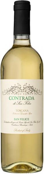 "Вино ""Contrada"" di San Felice Bianco, Toscana IGT, 2014"
