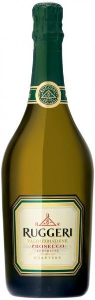 "Игристое вино Ruggeri, ""Quartese"" Brut Superiore, Prosecco di Valdobbiadene DOCG"