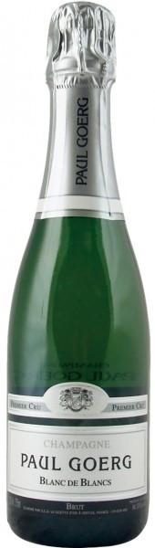 Шампанское Paul Goerg Brut Blanc de Blancs Premier Cru, 0.375 л