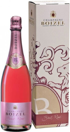 Шампанское Boizel, Brut Rose, gift box
