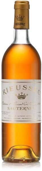 Вино Chateau Rieussec Sauternes AOC 1-er Grand Cru Classe 1989