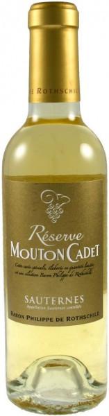 "Вино ""Reserve Mouton Cadet"", Sauternes AOC, 2012, 0.375 л"
