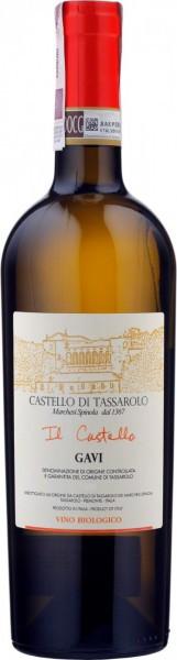 """Вино Castello di Tassarolo, """"Il Castello"""", Gavi DOCG, 2015"""