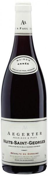 """Вино Aegerter, """"Recolte du Domaine"""", Nuits Saint Georges AOC, 2002"""