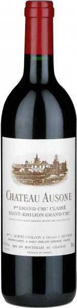 """Вино Chateau Ausone Saint-Emilion AOC 1er Grand Cru Classe """"A"""" 1990"""