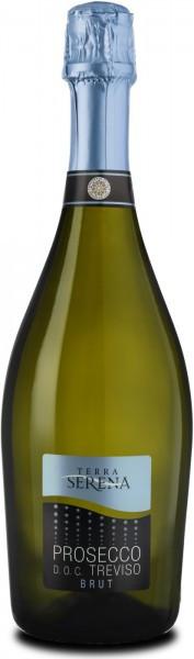 "Игристое вино ""Terra Serena"" Prosecco Spumante Brut, Treviso DOC"