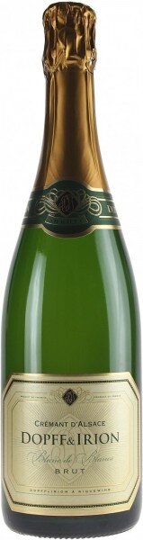 Игристое вино Dopff & Iron, Cremant d'Alsace AOC Brut Blanc de Blanc