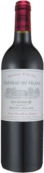Вино Chateau du Glana Cru Bourgeois Superieur Saint-Julien AOC, 2007, 1.5 л