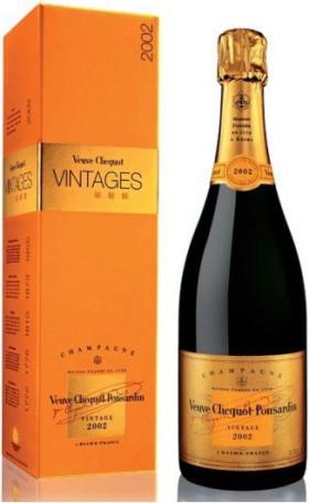 Шампанское Veuve Clicquot Vintage 2002 with gift box