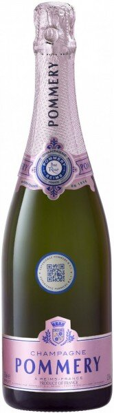 Шампанское Pommery, Brut Rose, Champagne AOC