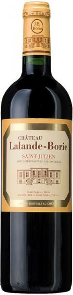 Вино Chateau Lalande Borie (Saint-Julien) AOC, 2011