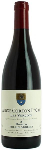 "Вино Domaine Follin-Arbelet, Aloxe-Corton Premier Cru ""Les Vercots"" AOC, 2014"