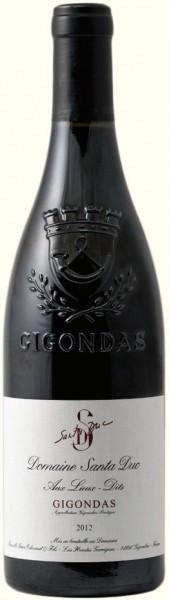 """Вино Domaine Santa Duc, Gigondas """"Aux Lieux-Dits"""" AOC, 2012"""