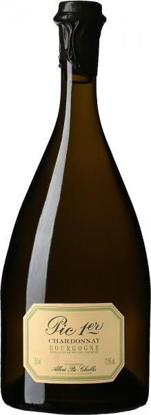 "Вино Chardonnay ""Pic 1-er"", Bourgogne AOC, 2015"