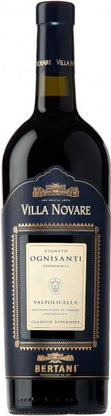 """Вино Bertani, Villa Novare, """"Ognisanti"""", Valpolicella Classico Superiore DOC, 2007"""